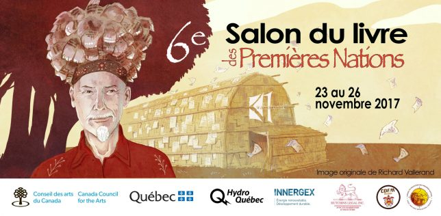 Sixi me dition du salon du livre des premi res nations for Salon du livre 2017