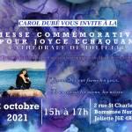 Affiche messe commémorative Joyce Echaquan